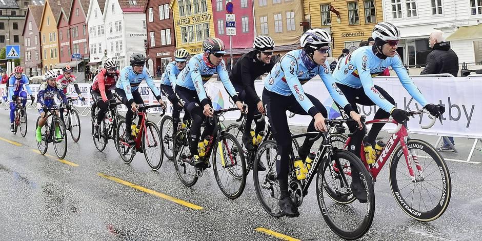 Mondiaux de cyclisme: maintenir l'esprit d'équipe pour éviter que l'arc-en-ciel ne vire à l'orage - La Libre