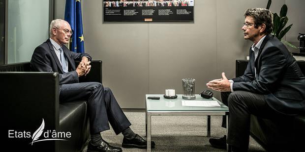 """Etats d'âme avec Herman Van Rompuy : """"Adolescent, j'étais républicain et non croyant"""" - La Libre"""
