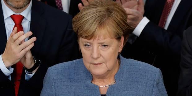 """Législatives en Allemagne: Merkel espérait un """"meilleur résultat"""", Martin Schulz charge la chancelière (INFOGRAPHIE) - L..."""
