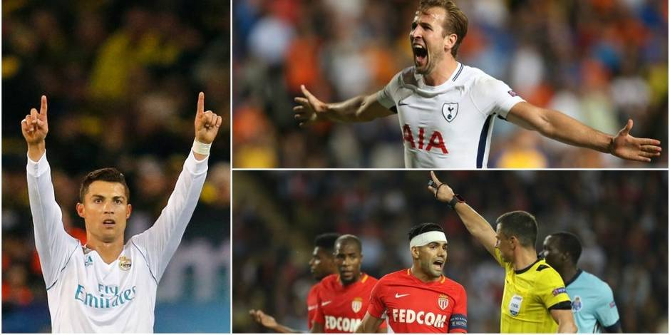 Ligue des Champions: le Real impressionne, Monaco coule, carton pour Naples et Tottenham
