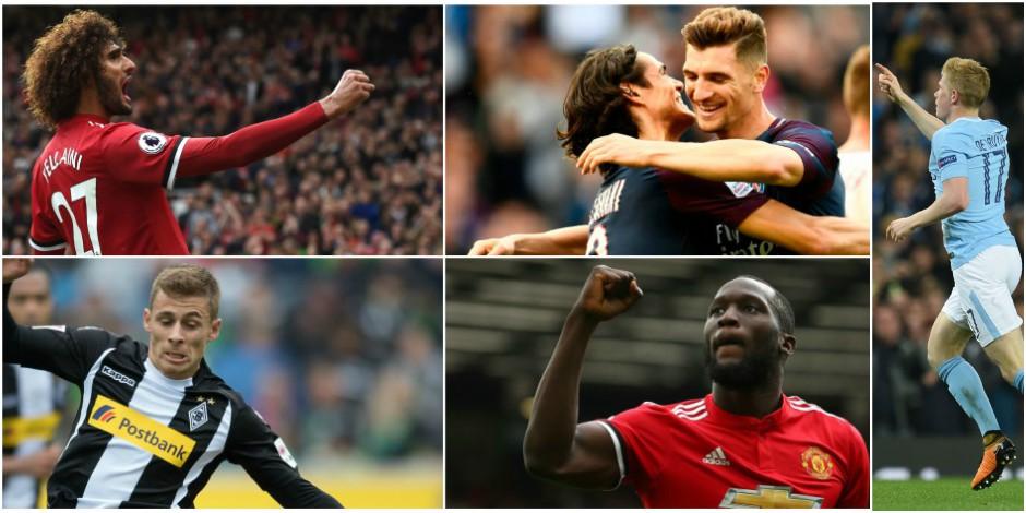 Belges à l'étranger: après Fellaini, Lukaku, Thorgan Hazard et Meunier, De Bruyne marque à son tour (VIDEOS)