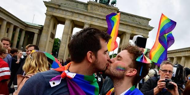 """Le """"Mariage pour tous"""" arrive en Allemagne - La Libre"""