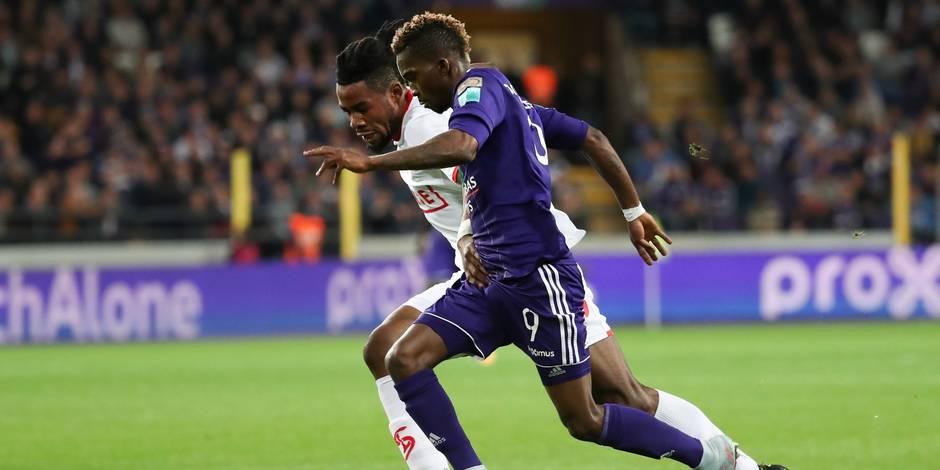 Onyekuru donne la victoire à Anderlecht dans les derniers instants d'un Clasico disputé (1-0)