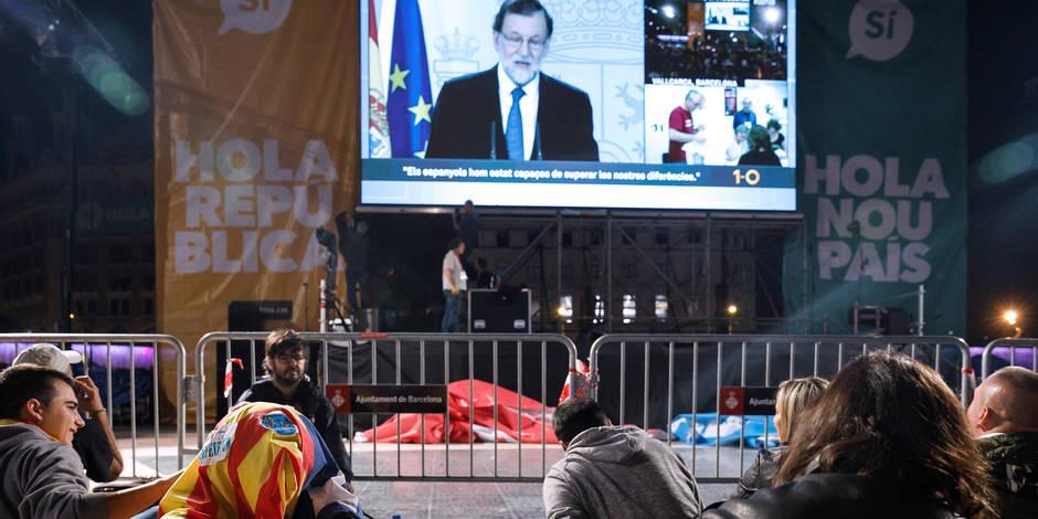 Edito catalan: C'est l'Espagne qui est perdante (PHOTOS) - La Libre