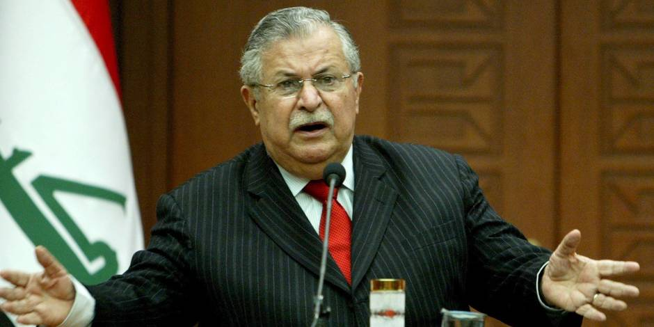 L'ancien président irakien, le Kurde Jalal Talabani, est mort