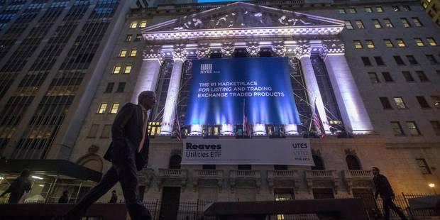 Wall Street poussée à de nouveaux records par la finance et la tech - La Libre