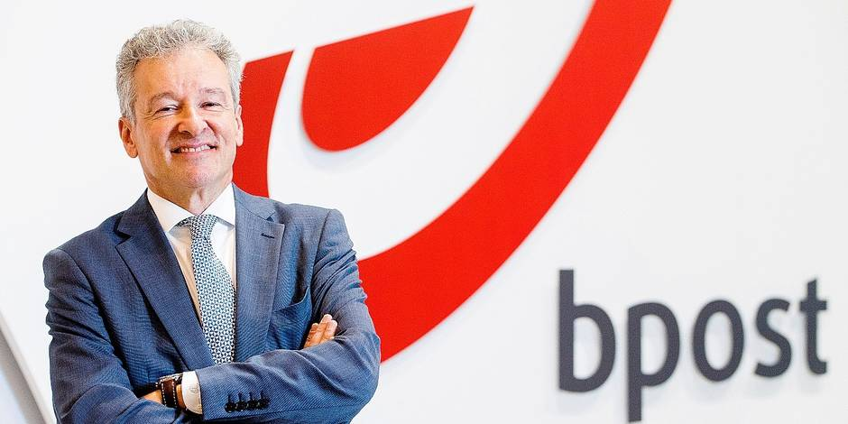 bpost CEO Koen Van Gerven poses for the photographer at a press conference of Belgian post company Bpost who announced today to take over US company Radial which will be an asset in the logistic of internet trade, Monday 09 October 2017. BELGA PHOTO LAURIE DIEFFEMBACQ