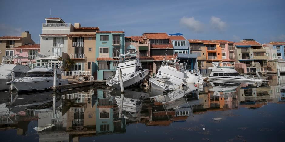 Ouragan Maria: le bilan passe à 44 morts à Porto Rico