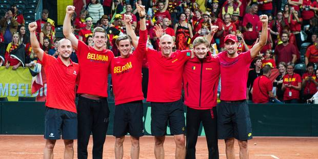 Des places à vendre mardi et jeudi pour la finale de Coupe Davis entre la France et la Belgique - La Libre