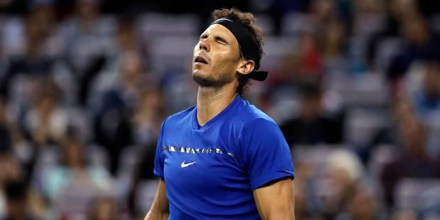 Rafael Nadal déclare forfait pour le tournoi de Bâle fin octobre - La Libre