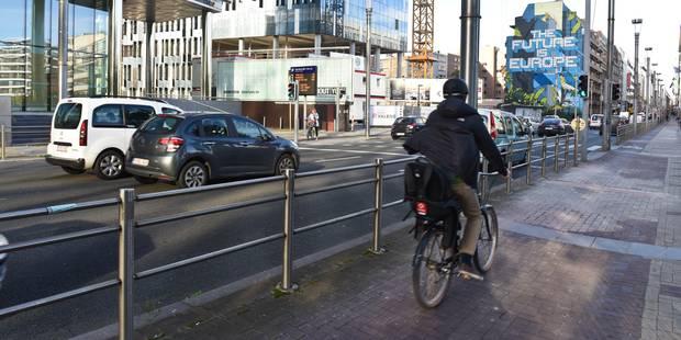 Lancement d'une première Bike Light Lane à Bruxelles - La Libre