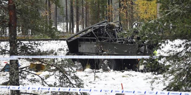 Accident de train en Finlande: 4 personnes sont décédées - La Libre