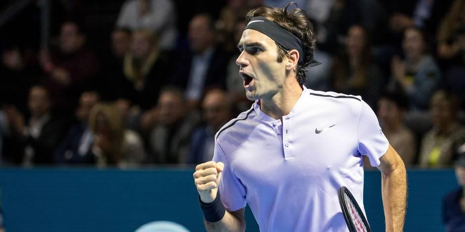 ATP Bâle: Federer renverse Del Potro et l'emporte à domicile (6-7, 6-4