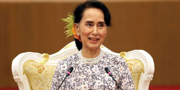 Crise des Rohingyas: première visite de Suu Kyi dans la zone du conflit - La Libre