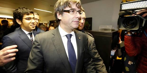 L'avocat belge de Puigdemont confirme le mandat d'arrêt européen lancé contre son client - La Libre