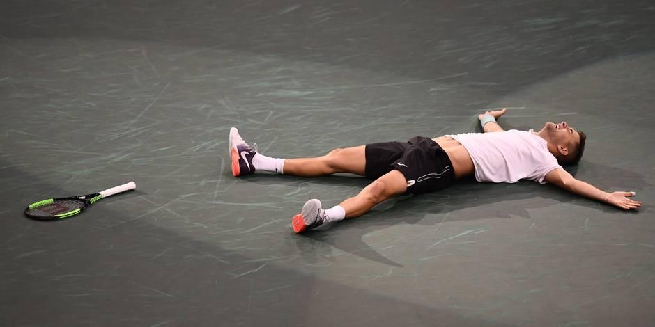 Paris-Bercy: Krajinovic écarte Isner et va en finale
