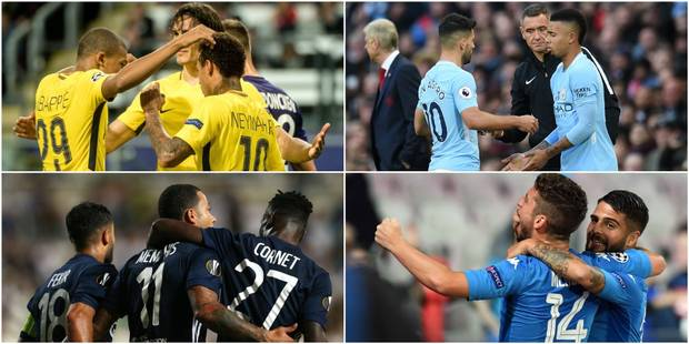 PSG, Manchester City, Lyon, Lazio, Naples, Dortmund, etc.: quelle équipe a le trio offensif le plus prolifique ? - La Li...