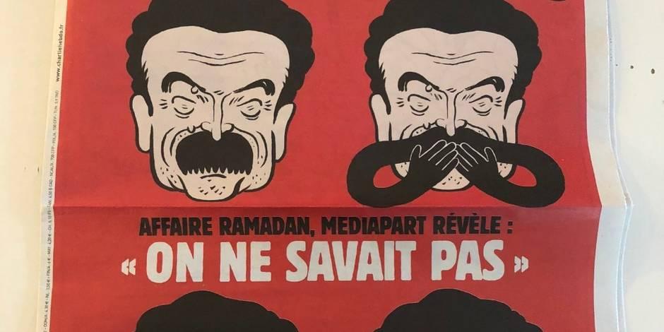 Affaire Ramadan: Charlie Hebdo se paye Edwy Plenel