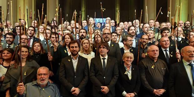 Discours des 200 bourgmestres catalans: polémique autour de la location du Bozar - La Libre
