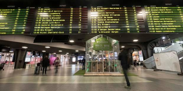 Ponctualité des trains : rififi sur les chiffres - La Libre