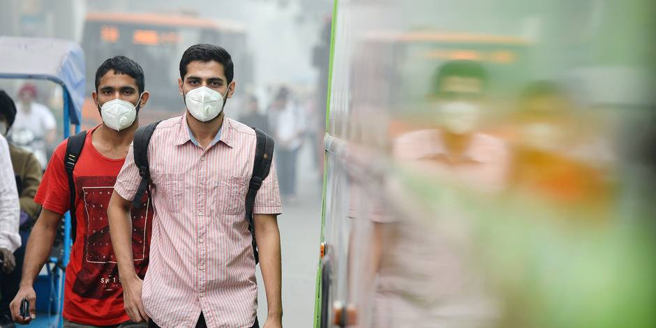 """A Delhi, dans l'enfer de la pollution: """"On traite de plus en plus de patients atteints d'un cancer du poumon alors qu'ils ne fument pas"""""""