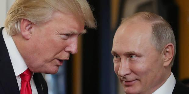 Ingérence russe: Poutine dénie, Trump le croit mais la CIA maintient - La Libre
