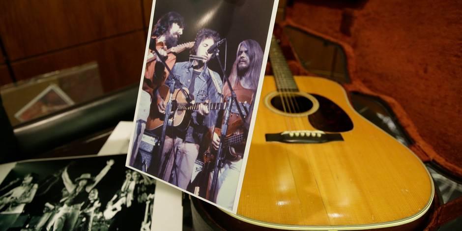 Une guitare de Bob Dylan vendue près de 400.000 dollars
