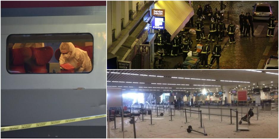 """Attaques du Thalys, Paris, Bruxelles: """"Peut-être une unique opération de Daech"""""""