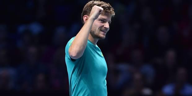 """Goffin efface Thiem et s'offre une demi-finale face à Federer au Masters: """"Je n'aurai rien à perdre"""" - La Libre"""