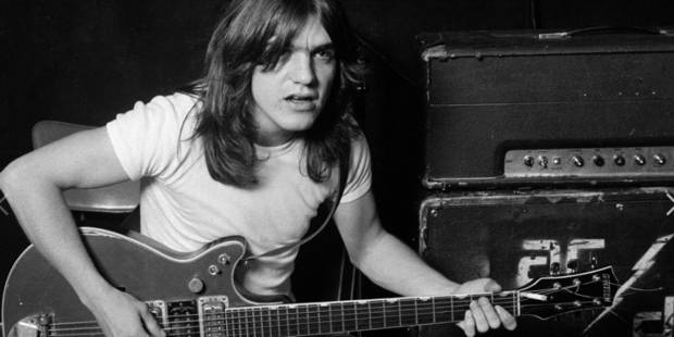 Malcolm Young, le guitariste et fondateur d'AC/DC, est décédé à l'âge de 64 ans (VIDEOS) - La Libre