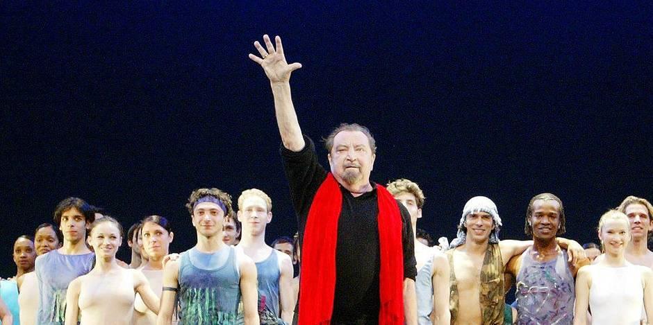 Le choregraphe Maurice Bejart fete ses 80 ans a Paris avec deux spectacles