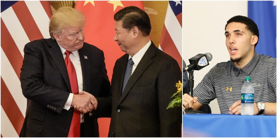 Une diplomatie de haut vol (à la tire)