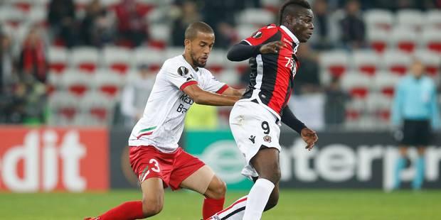 Zulte s'incline à Nice et est éliminé (3-1) - La Libre