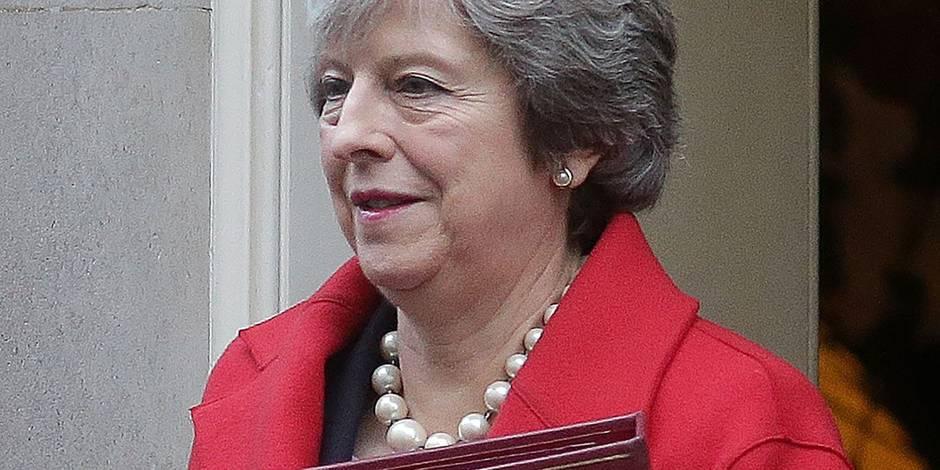 Brexit: Theresa May à Bruxelles, l'UE espère des avancées