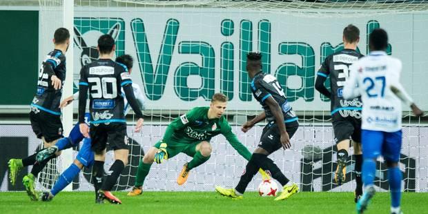 Pro League: Mouscron s'incline à Gand et poursuit sa série noire (3-1) - La Libre