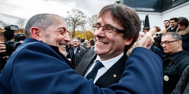 Puigdemont lance sa campagne électorale depuis la Belgique - La Libre