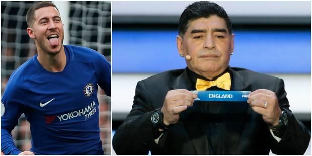 """Hazard blague sur le tirage des Diables rouges au Mondial: """"L'Angleterre? Ça sera facile"""" - La Libre"""