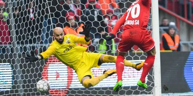 """Bolat après le penalty arrêté contre le Standard: """"Désolé, mais c'est mon job"""" - La Libre"""