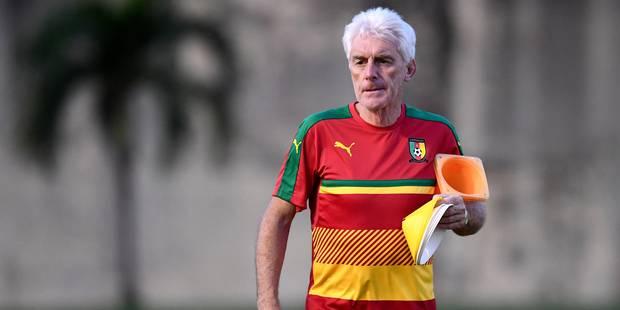 La fédération camerounaise de football met un terme au contrat de Hugo Broos - La Libre