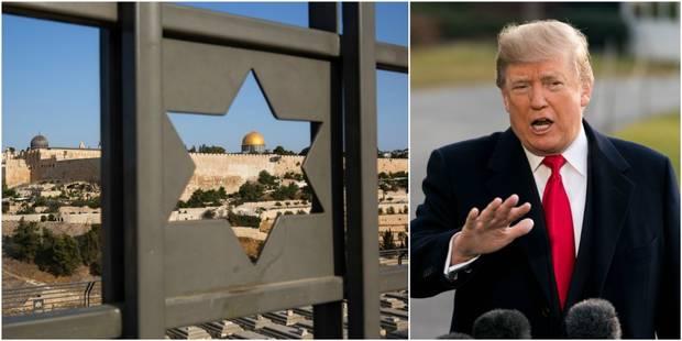 """Trump informe Abbas qu'il veut """"transférer l'ambassade américaine à Jérusalem"""" - La Libre"""
