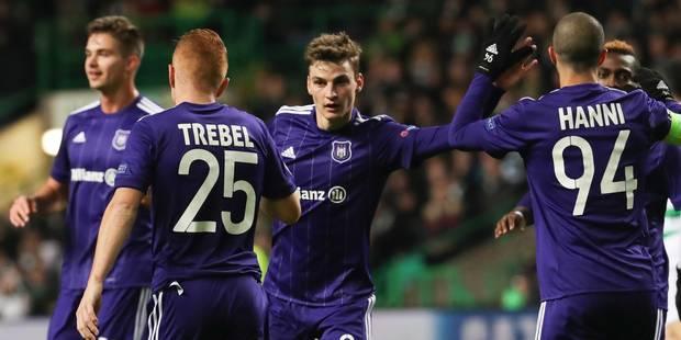 Les statistiques d'Anderlecht en phase de poules de la C1 - La Libre