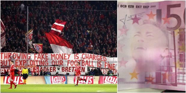 Les fans du Bayern attaquent cyniquement le PSG et l'UEFA, Müller en rajoute une couche - La Libre