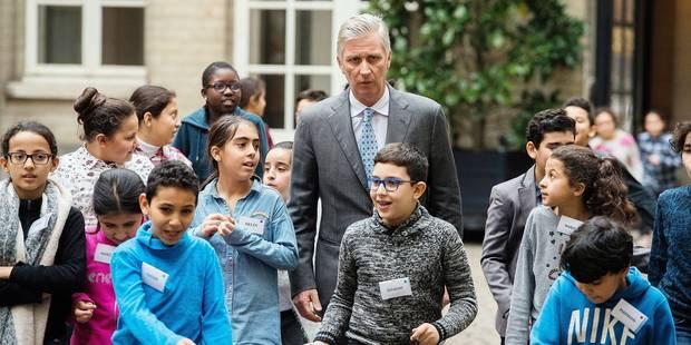 Quand trente élèves aident le Roi à rédiger son discours - La Libre
