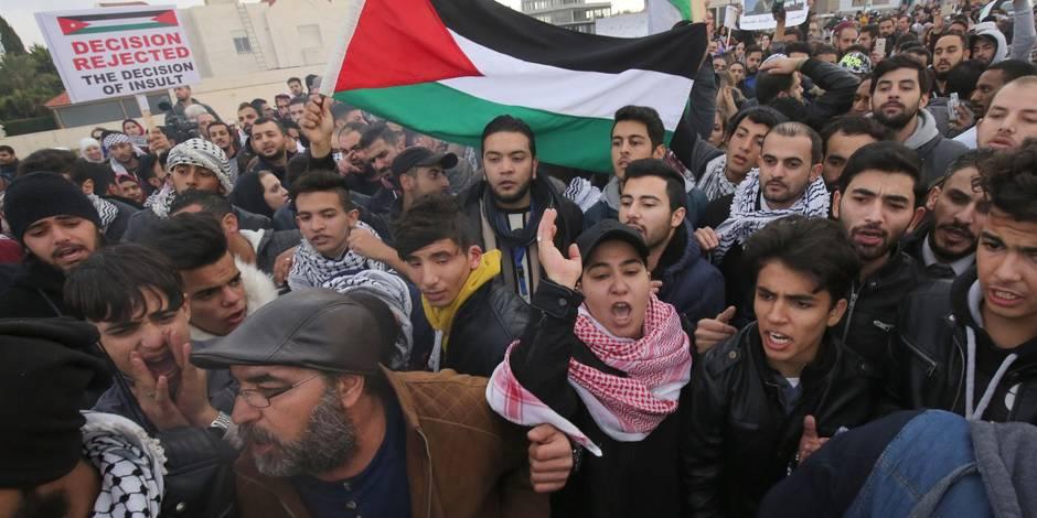 Statut de Jérusalem: manifestations en Tunisie et en Jordanie