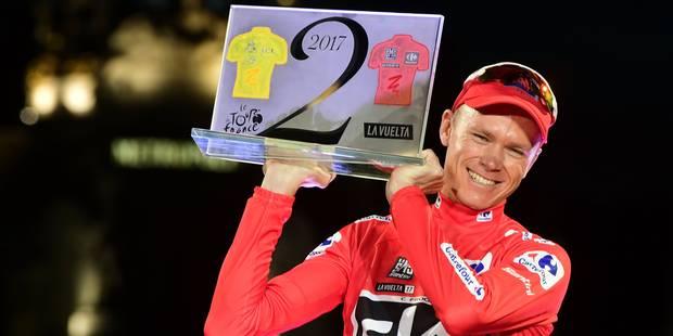 """Chris Froome contrôlé positif lors de la dernière Vuelta: """"Mon asthme s'est aggravé et j'ai suivi le conseil du médecin ..."""