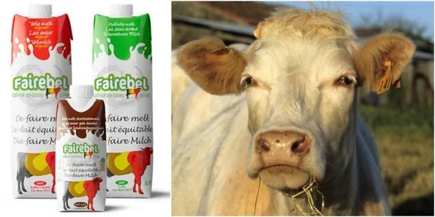 Fairebel, l'enjeu d'un lait équitable dans un secteur en crise - La Libre