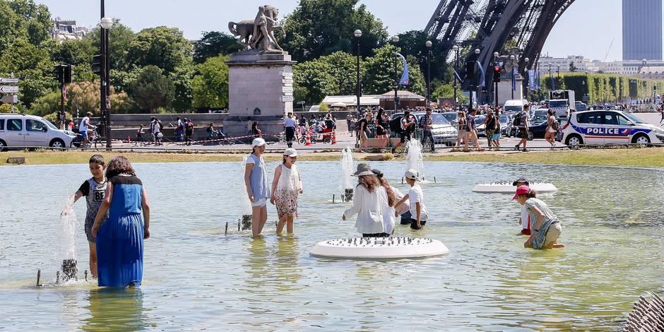 Canicule a Paris