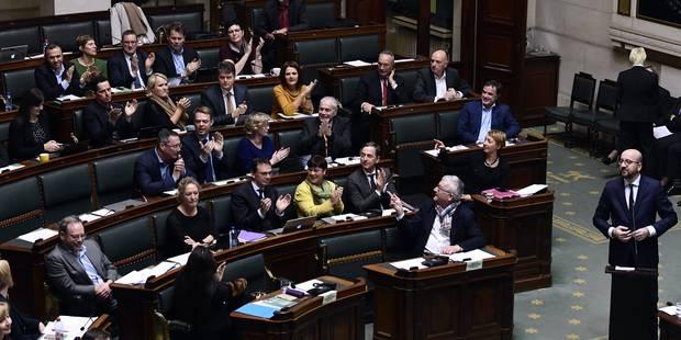 La Chambre adopte le budget 2018 et les peines de sureté - La Libre