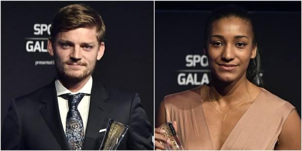 Gala du Sport 2017: David Goffin et Nafi Thiam élus sportifs de l'Année - La Libre
