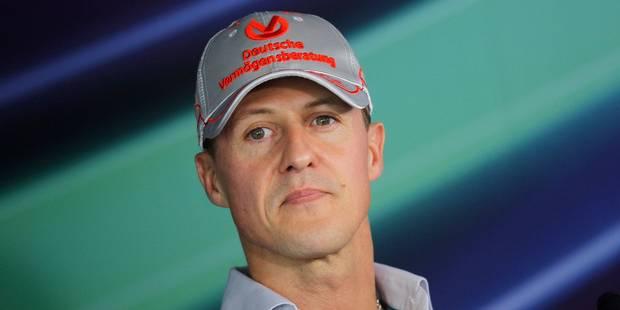 Quatre ans après son accident, Michaël Schumacher reçoit des soins à 125.000 euros par semaine - La Libre
